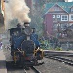 Darjeeling himalayan railway steam engine