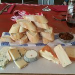 The Frederics cheeseboard