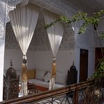 Sitting area in the riad