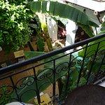 Calm oasis inside the busy medina