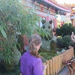 our guide Linda for Gardens of Wonder tour