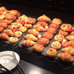 Fresh Breakfast pastries ready for you!