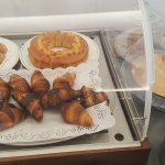 Some of the cakes and pastries at breakfast