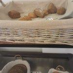Breakfast - a few of the varieties of breads