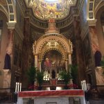 View looking at the altar