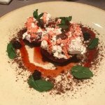 Mascarpone with quince