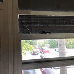 Another cracked window in my room....