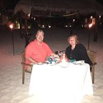 Our stay in paradise. Great food, beach and service. Nice lobster dinner on. Each for our annive