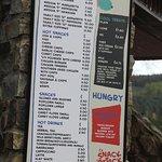Menu-the garlic chips are delish!