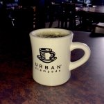 A relaxing Saturday morning cup of coffee at the Urban Stampede! (April 15th 2017)