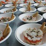 Catering organizado con motivo de la celebración del Citta Slow Internacional