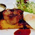 Tableau Restaurant - Fois gras on brioche