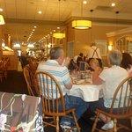 seating in restaurant