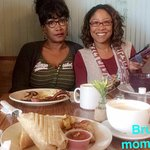 Me and mom @ National Cafe