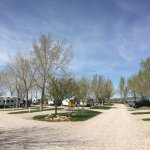 RV park in the middle of April