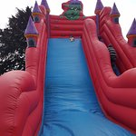 Bouncy slide for 3 - 11 year old (included with price)