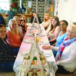Absolutely lovely ladies enjoying their afternoon tea hen party today, a pleasure having you in!