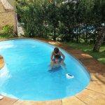 piscina de cada cabaña
