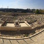 Model of Old City of Jerusalem