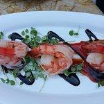 Shrimp appetizer! Yum!