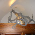 sculpture of octopuss