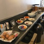 Part of the complimentary breakfast buffet