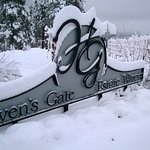 Beautiful winters at Heaven's Gate Winery