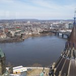 Top of the Peace Tower View