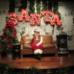 Santa waiting for you to come have a photo with him
