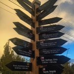 Cool Beer sign out front showing distances to favorite breweries including Baguales which shows