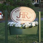 Inn Sign in Front Lawn