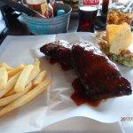 my plate of pork ribs