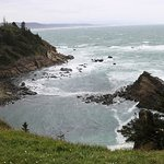 From Cape Arago parking lot