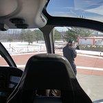 In the chopper