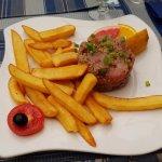 tartare de thon frites