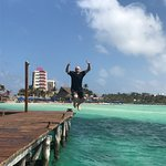 Yeah - I love jumping off piers into crystal clear water!