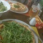 Ich liebe Ruccola auf Pizza!