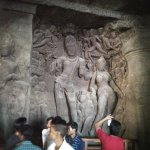Big carvings of gods
