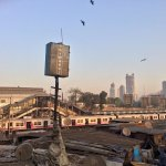 Dhobi Ghat am Morgen