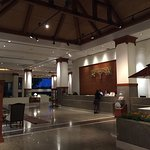 Lobby: big, clean but not really cosy