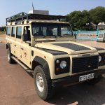 The stretch Land Rover