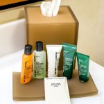 The nice Peter Thomas Roth's toiletries that are used in almost all Hilton hotels