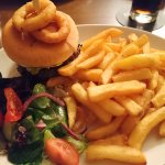 My burger from the meal last night, wow is the best way to describe, I cleared my plate but it w