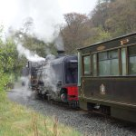 There is a station for the Snowdonia steam train