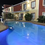 Whether you want to relax poolside or take a dip, our outdoor pool area is the perfect place to