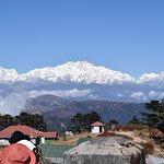 View of Kanchenjunga Mountain from Sandakphu