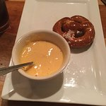 Pretzel with mustard - very nice