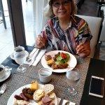 delicious breakfast buffet