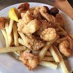 Pick 2 - Fried shrimp and grouper