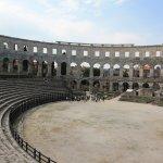 Amphitheater Pula Foto